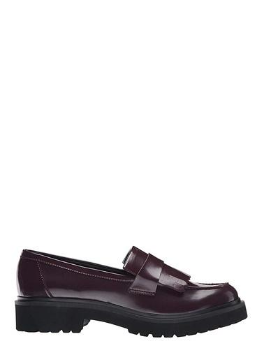 Nine West Loafer Ayakkabı Bordo